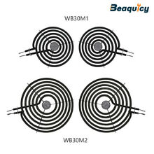 Electric Range Burner Element Kit 2 Pack WB30M1  2 Pack WB30M2 for GE Whirlpool