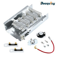 279838 Dryer Heating Element   279816   Thermostat 3392519 Dryer Fuse Combo Pack