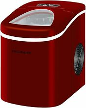 Frigidaire Icemaker up to 26lb  of ice Portable Countertop   EFIC108   RED