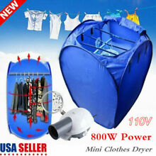 800W Air O Dryer Portable Mini Electric Clothes Dryer Air Heater Machine Fold