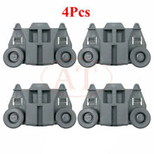 NEW 4Pcs Dishwasher Rack Rollers Fit For Whirlpool Kenmore WPW10195417 US