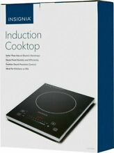 New Insignia 11 4   Electric Induction Cooktop Portable NS IC1ZBK8   Ships FREE