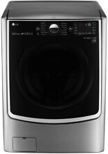 NEW  LG 4 5 CU  FT  SMART WI FI ENABLED  FRONT LOAD WASHER