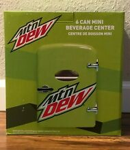 Mt Dew 6 Can Mini Beverage Center  120 Or 12 Volt  Holds 6 12oz  Cans FAST SHIP