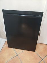 Bosch  Dishwasher Door Outer Panel and Handle Black 00770048