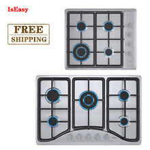 LPG NG Gas Cooktop 4 5 Burners Built in Gas Stove Stainless Steel Cooker Gas Hob
