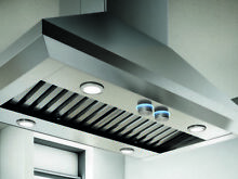 Elica 36  Wide Island Hood Stainless BRAND NEW