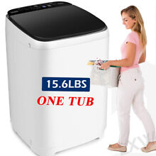 15 6lbs Full Automatic Washing Machine 2 IN 1 Portable Top Load Washer and Dryer