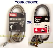 Dryer Power Cord Extra Heavy Duty 10 Gauge 3 Conductor 30 AMP 250V  7500W 4