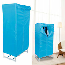Clothes Dryer Portable Electric Quick Drying Machine w Time Adjustment for Home