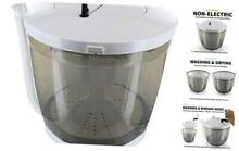 GER 1165 Mini Portable Washing Machine Washer and Dryer Manual Non Electric