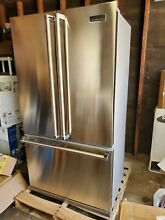 Viking  3 Series 22 1 Cu  Ft  French Door Counter Depth Refrigerator Stainless s