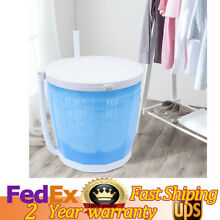 Portable Washer  Combo Mini Travel Manual Washing Machine Spin Dryer 2kg ABS