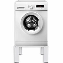Steel Washing and Drying Machine Pedestal White Dryer Stand Washer
