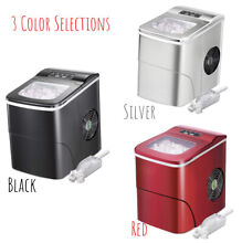 AGLUCKY Counter top Ice Maker Machine Compact Automatic Ice   COLOR SELECTION