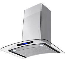 30  Wall Mount Stainless Steel Range Hood Vent