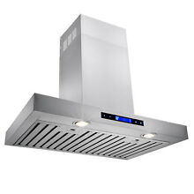30  Stainless Steel Wall Mount Powerful Range Hood Kitchen Stove Vents