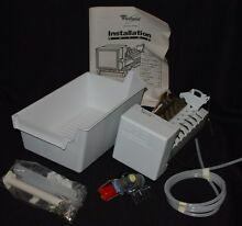 Genuine Whirlpool Sears Kenmore Ice Maker Kit  Message us for compatibility