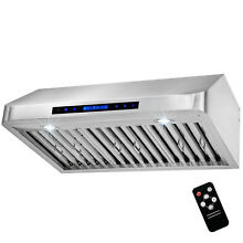 30  Stainless Steel Under Cabinet Range Hood Kitchen Stove Vent