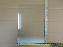 Frigidaire Electrolux Westinghouse small shelf glass 240443318 12 x 17 1 2