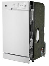 Sunpentown 18  Built In Dishwasher with Energy Star   White SD 9252W