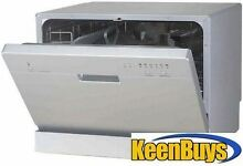 Sunpentown Countertop Dishwasher Portable Compact Silver SD 2201S