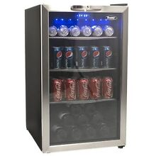Danby 3 9 CuFt  Beverage Center Holds 7 Bottles   124 Cans Free Standing   NEW