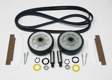 May2kt NEW Dryer Maintenance Kit for Maytag 33002535 306508 12001541 Belt Roller