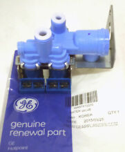 WR57X10070 GE Icemaker Water Inlet ValveTriple Coil Solenoid AP3996264 PS1483564