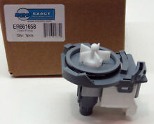 WP661658 Dishwasher Drain Pump for Whirlpool PS382477 AP3133590 8268411 8268460