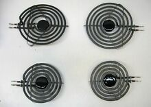 MP24PK 4 PAK Stove Eyes Range Burners Surface Elements 2 Large and 2 Small