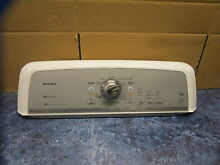 MAYTAG WASHER CONTROL PANEL PART  W10272444