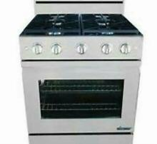 Dacor DR30GFSNG 30  Freestanding Gas Range Stainless Steel Detailed Images