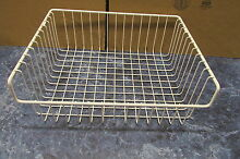 WHITE WESTINGHOUSE REFRIGERATOR SLIDING BASKET PART   5303206524