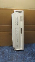 Whirlpool Dishwasher Console white part  8274729