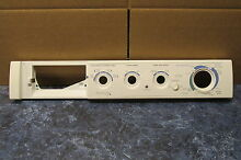 FRIGIDAIRE WASHER CONTROL PANEL PART   131887284