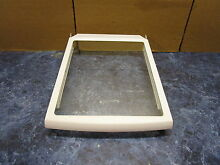 GE REFRIGERATOR MEAT PAN SHELF PART  WR71X10573