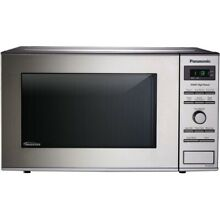 Panasonic NN SD372S 0 8 Cu  Ft  Countertop Microwave Oven   Stainless Steel