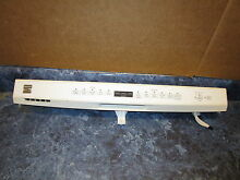 KENMORE DISHWASHER CONTROL PANEL PART  W10306202