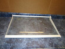 GE REFRIGERATOR GLASS SHELF PART  WR71X10904