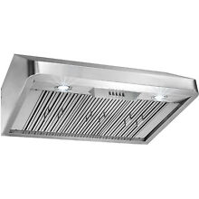 36  Stainless Steel Under Cabinet Classical Push Button Control Range Hood Vent