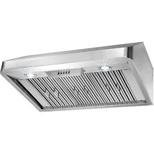 36  Kitchen Under Cabinet Stainless Steel Push Button Range Hood Cooking Vent