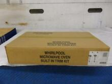 Whirlpool   KitchenAid 30  Black Builtin Countertop Microwave Trim Kit MK1197XGB