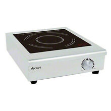 Adcraft IND C120V Countertop 120V Electric Induction Hot Plate Manual Control