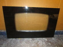 MAYTAG RANGE OUTER DOOR GLASS BLACK PART  12002395