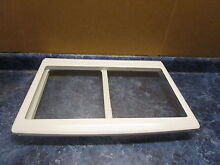 GE REFRIGERATOR GLASS SHELF PART  W11181679 W10258418