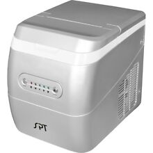 Sunpentown Portable Ice Maker   Silver   IM 123S