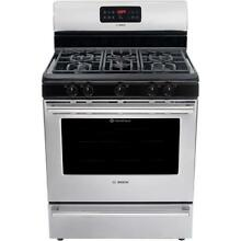Bosch HGS3053UC Gas Range 300 Series Stainless Steel  BRAND NEW IN BOX