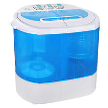 10lbs Compact Lightweight Portable Washing Machine Washer w  Spin Cycle Dryer