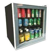 Avanti 1 7 cu  ft  Beverage Cooler   Black